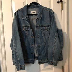 Old Navy denim blue jean jacket